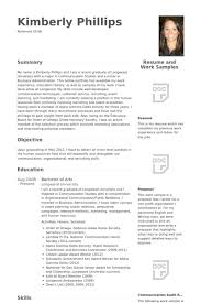 Resume For Hospitality Impressive Management Trainee Resume Samples VisualCV Resume Samples Database