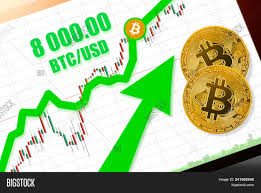 Btc X Stock Chart Bitcoin Btc Stock Image Photo Free Trial Bigstock