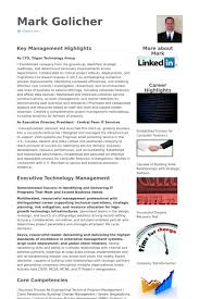 Chief Technology Officer Resume Samples Visualcv Resume Samples