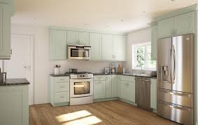 Sage Kitchen Cabinets Warm Society Shaker Pre Assembled The Rta