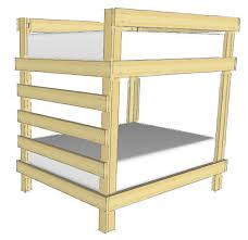 basic bunk bed plans