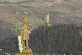 Wallace Monument mit Statue von Robert Bruce