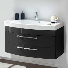 Badezimmer Set Boisan Mit Waschtisch 100cm Breit 3 Teilig