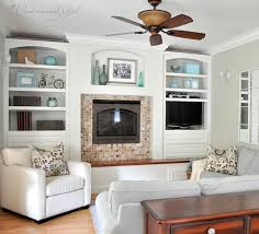Living Room Ceiling Fan Custom Living Room With Black Ceiling Fan Accents Of Black And Move Tv To