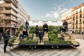 create design office. During The Recent Madrid Design Festival, Enorme Studio And MINI  Collaborated To Create A Portable Design Office I