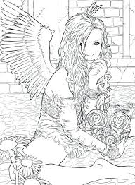 Gothic Coloring Pages For Adults At Getcolorings Com Free
