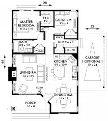 Stylish Two Bedroom House Plans To Realize Awesome Two Bedroom - Two bedroomed house plans