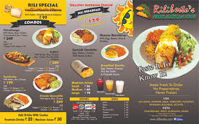 mexican food menu.  Food OUR INTERNATIONAL MENU In Mexican Food Menu