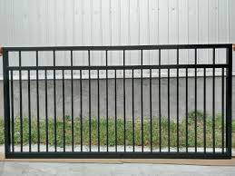 Modern Iron Fence Designs Hot Item Residential Main Gate Fence Design Home Aluminum Modern Fencing