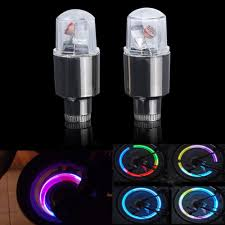 Us 0 89 1 Pcs Wheel Led Lamp Bike Lights Tire Tyre Valve Cap Neon Cycling Bicycle Car Moto Caps Firefly Spoke Flash Light Lamp In Bicycle Light From