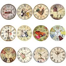 Country Kitchen Wall Clocks Popular Antique Wooden Wall Clock Buy Cheap Antique Wooden Wall