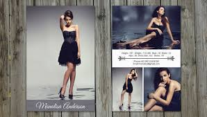 8 Comp Card Templates Free Sample Example Format