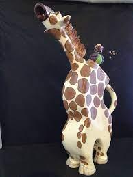Hager Giraffe & Flossie Bird Teapot   Giraffe, Pottery marks, Tea pots