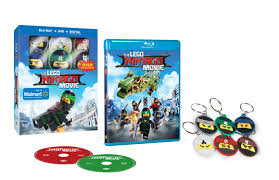 The LEGO Ninjago Movie (2017) (Walmart Exclusive) (Blu-ray + DVD + Digital  HD + Keychain) - Walmart.com - Walmart.com