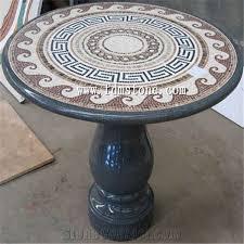 round marble mosaic medallion round stone mosaic table mosaic inlay marble table top work tops