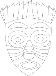 Small Picture African Masks Color Pages CrayolaMasksPrintable Coloring Pages