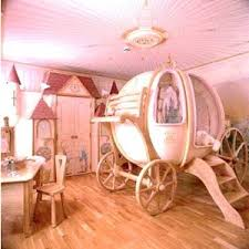 Little girl's rooms / Cinderella carriage bed...this bed is awesome.