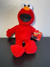 Elmo Light Up Wand Elmo Sesame Street Vintage Plush Toy Little Kids New With Tags 15