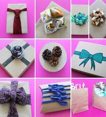 Ideas For Decorating Gift Boxes