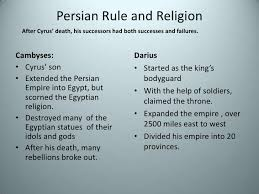 King Cyrus And King Darius Venn Diagram Ch 4 3 Persia Unites Many Lands
