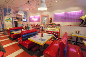 memphis design furniture. The Saved By Max Pop-up Restaurant, Which Opened In Chicago Last Summer. Marc Much Memphis Design Furniture