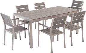 vernio aluminium and poly wood outdoor