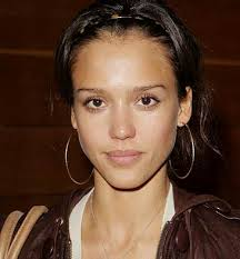 jessica alba without makeup style