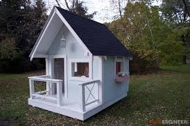 outdoor playhouse plans myoutdoorplans free woodworking plans 31 free diy playhouse plans to