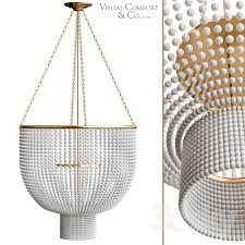 jacqueline two tier chandelier by visual comfort