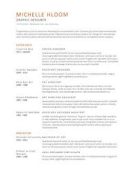 Simple Resumes Templates Simple Simple Resume Templates [48 Examples Free Download]