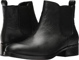 cole haan women s black leather landsman short ankle boot booties new in box