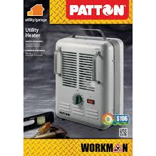 patton electric utility milkhouse heater walmart com