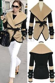 y 2016 new fashion women leather sleeves wool military jacket plus size western victorian poncho cape coat winter coats womens jacket biker leather
