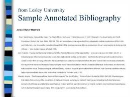 Ghost Writer For Hire Book Annotated Bibliography Sample In Apa     Annotated Bibliography APA