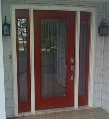 single glass exterior door charming smooth fiberglass entry door system with full lite door and includes
