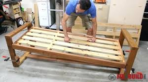 diy modern furniture awesome outdoor sofa how to build a modern outdoor sofa diy modern outdoor