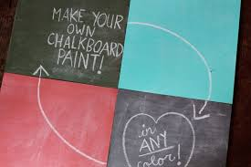 diy colorful chalkboard paints via abeautifulmess com