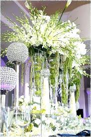 glass vase centerpiece square giant wine