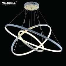 led chandelier lights. Chandelier Led Lights Ring Modern Simple Lamp For Living Room Lustre . E