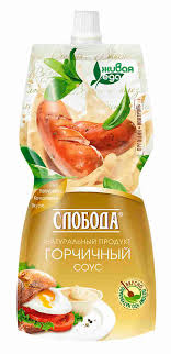 <b>Соус Слобода Горчичный</b> 60% 220мл - купить с доставкой в ...