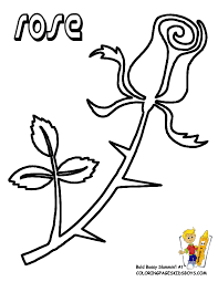 Small Picture Rose Flowers Coloring Pages Free YesColoring Rose Coloring
