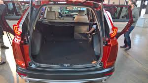 All-New 2017 Honda CR-V Debuts with Optional Turbo Engine ...