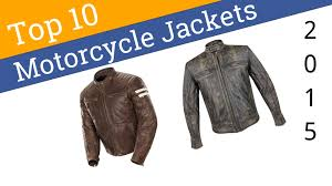 10 best motorcycle jackets 2016
