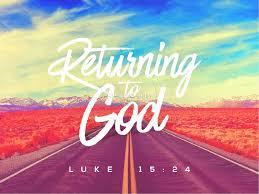 Powerpoint Sermons To Graphic God Returning Sermon