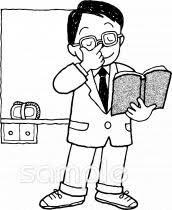 授業 男の先生イラストなら小学校幼稚園向け保育園向けのかわいい