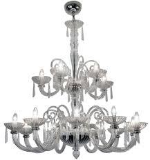 Branch Chandelier Buy Rv Astley Clear Glass 15 Branch Chandelier Online Cfs Uk