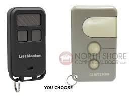 sears craftsman garage door opener mini remote control 3 function 53859 139 53859