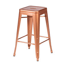Tolix counter stools Stackable Retro Cafe Tolix Counter Stool Copper Larger Photo Email Friend The Khazana Retro Cafe Tolix Counter Stool Copper The Khazana Home Austin