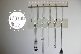 Jewelry Holder Wall Diy Wall Mounted Jewelry Holder Youtube