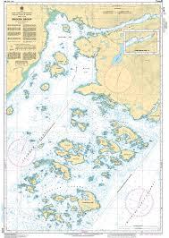 Chs Nautical Chart Chs3670 Broken Group